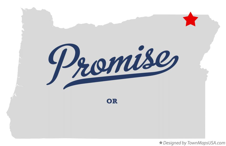 Map of Promise Oregon OR