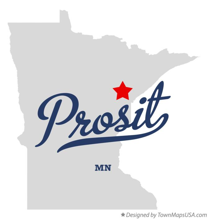 Map of Prosit Minnesota MN