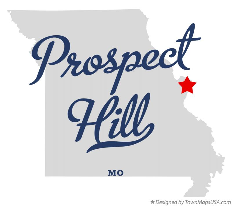 Map of Prospect Hill Missouri MO