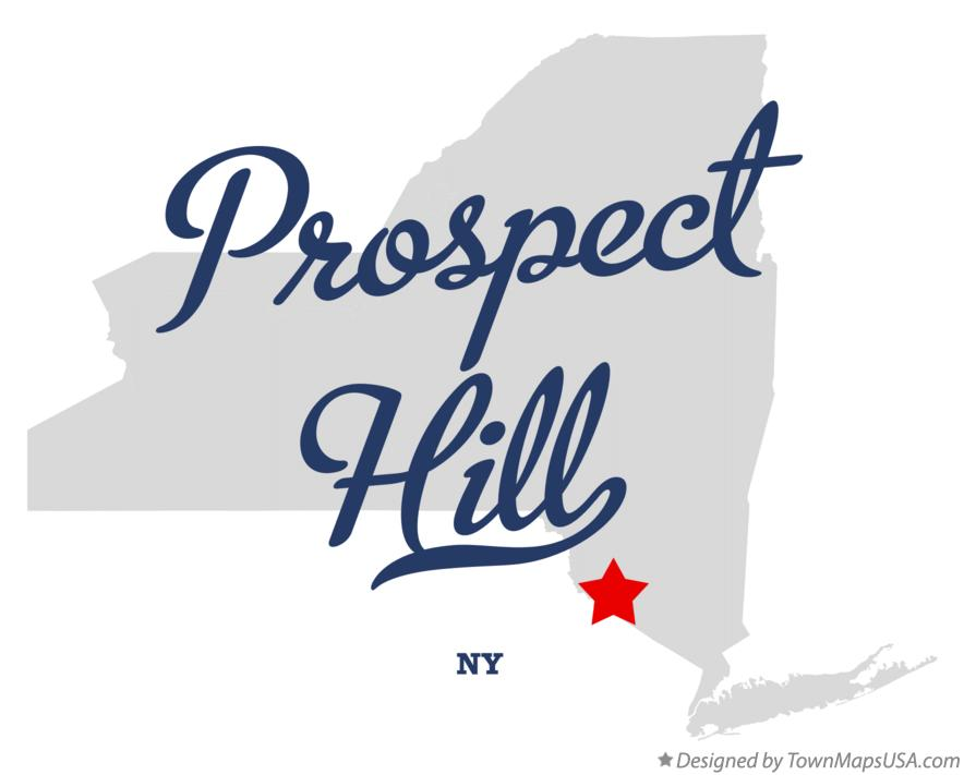 Map of Prospect Hill New York NY