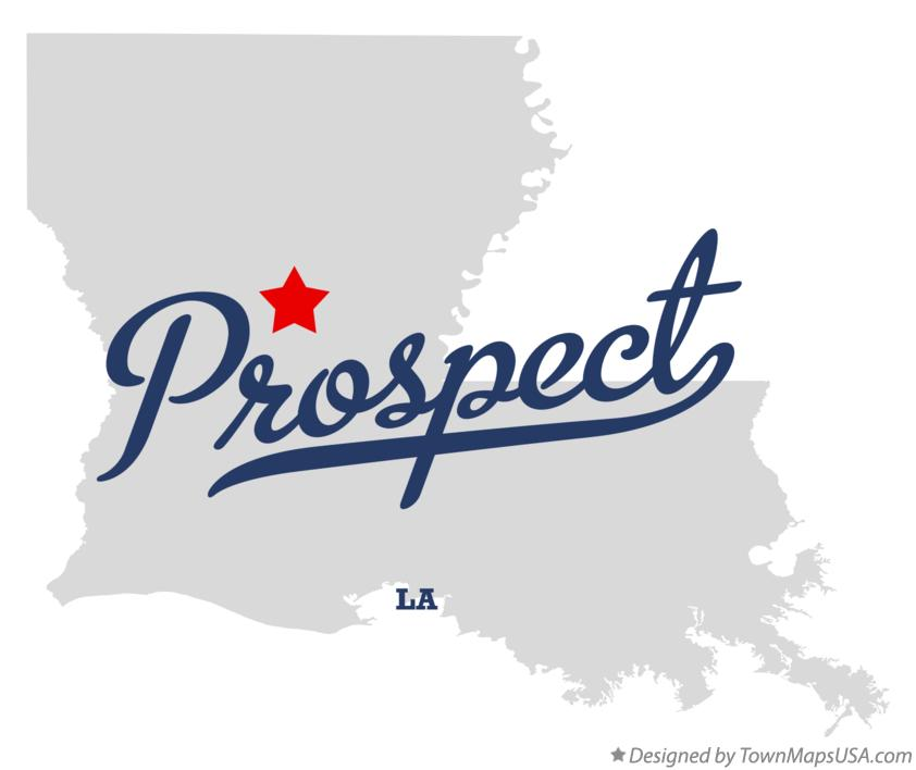 Map of Prospect Louisiana LA