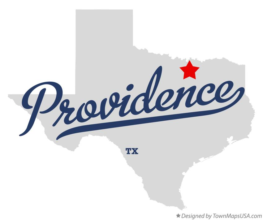Map of Providence Texas TX