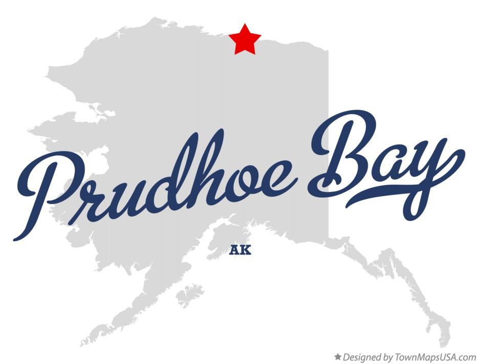 Prudhoe Bay Alaska Map.Map Of Prudhoe Bay Ak Alaska