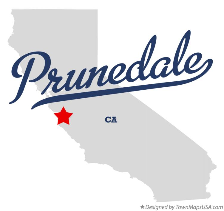 Map of Prunedale California CA