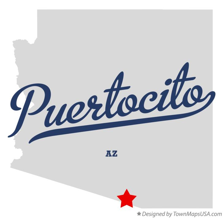 Map of Puertocito Arizona AZ