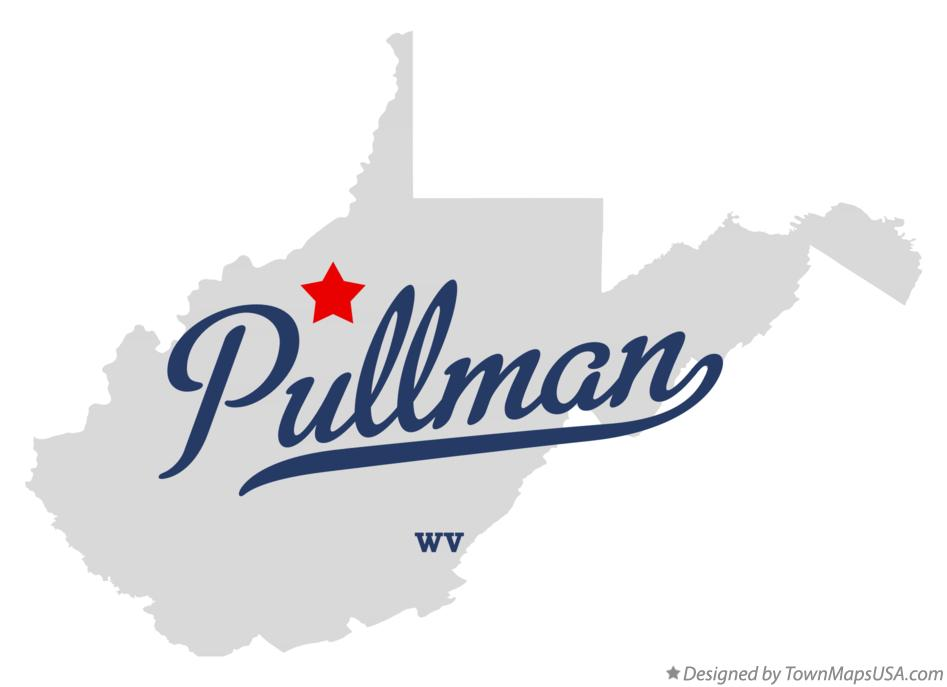 Map of Pullman West Virginia WV