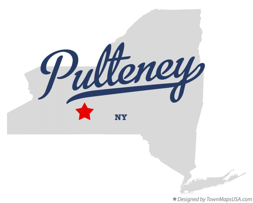 Map of Pulteney New York NY