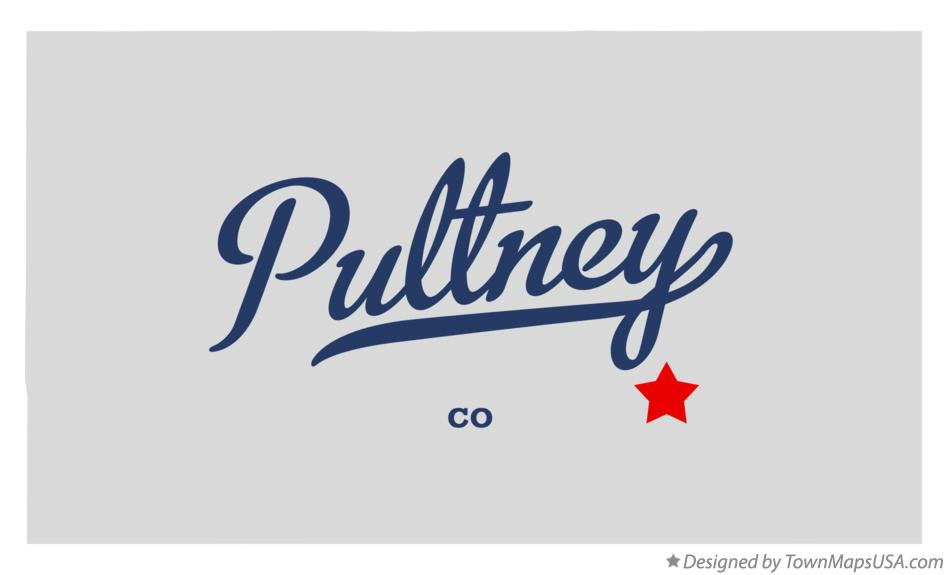 Map of Pultney Colorado CO