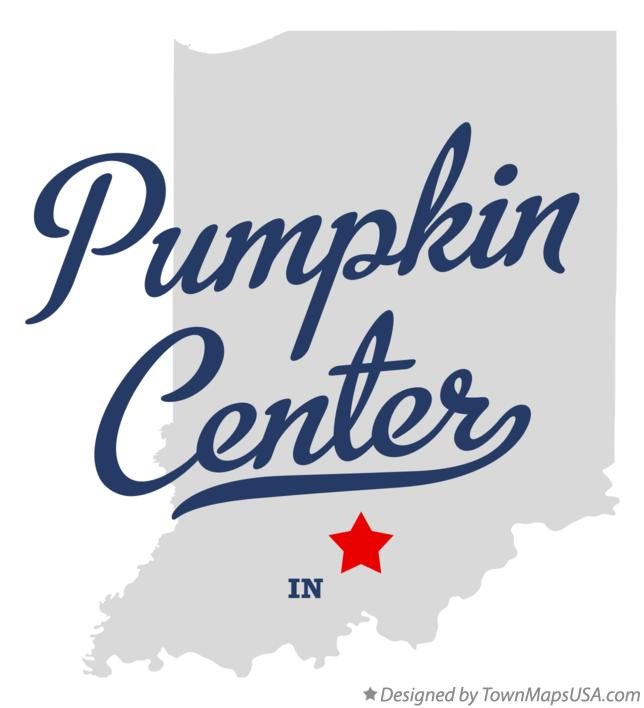 Map of Pumpkin Center Indiana IN