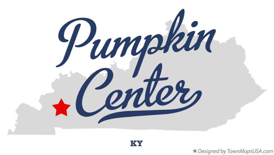 Map of Pumpkin Center Kentucky KY