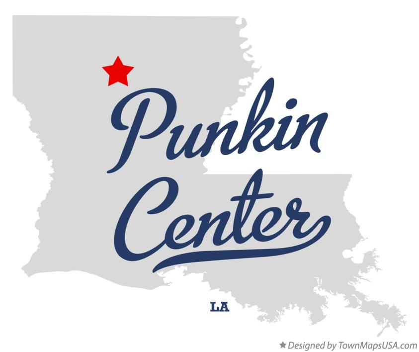 Map of Punkin Center Louisiana LA