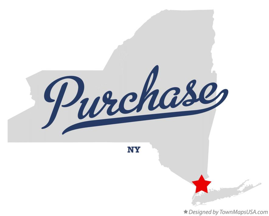 Map of Purchase New York NY