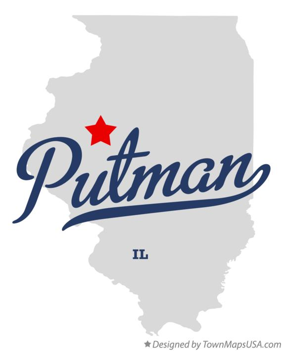Map of Putman Illinois IL