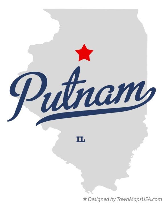 Map of Putnam Illinois IL
