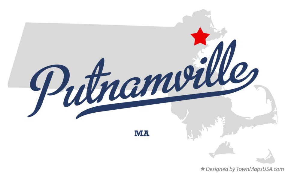 Map of Putnamville Massachusetts MA
