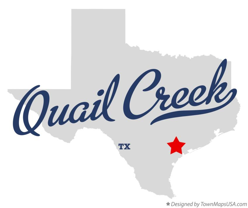 Map of Quail Creek Texas TX