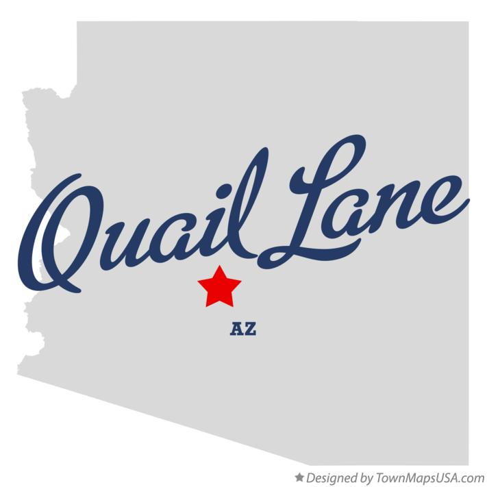 Map of Quail Lane Arizona AZ