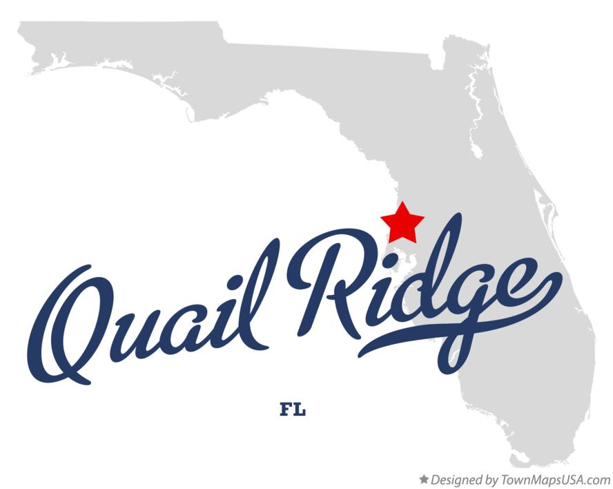 Map of Quail Ridge Florida FL