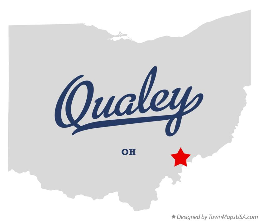 Map of Qualey Ohio OH