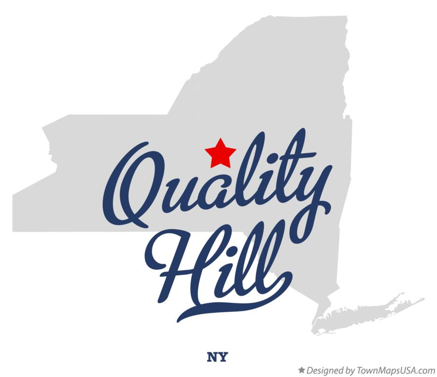 Map of Quality Hill New York NY