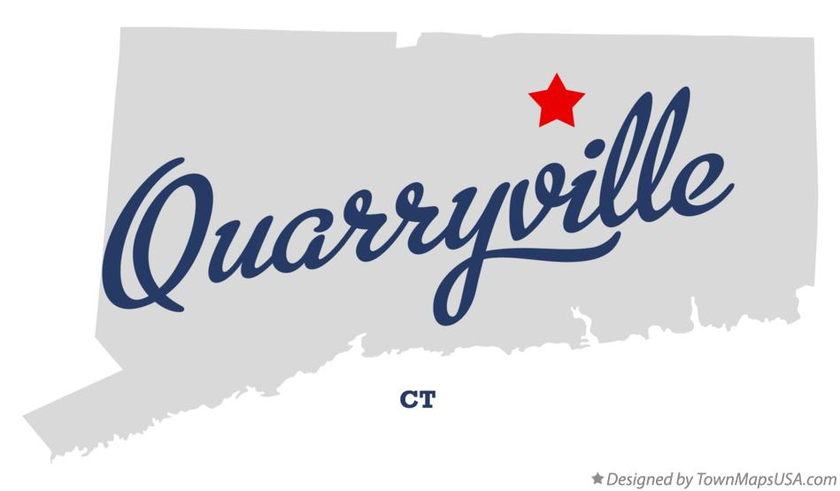 Map of Quarryville Connecticut CT