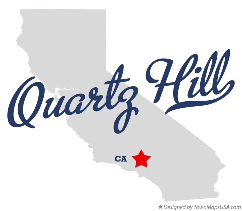 Map of Quartz Hill California CA