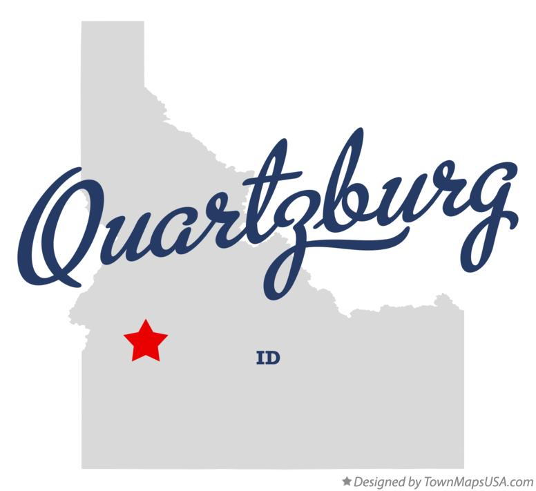 Map of Quartzburg Idaho ID