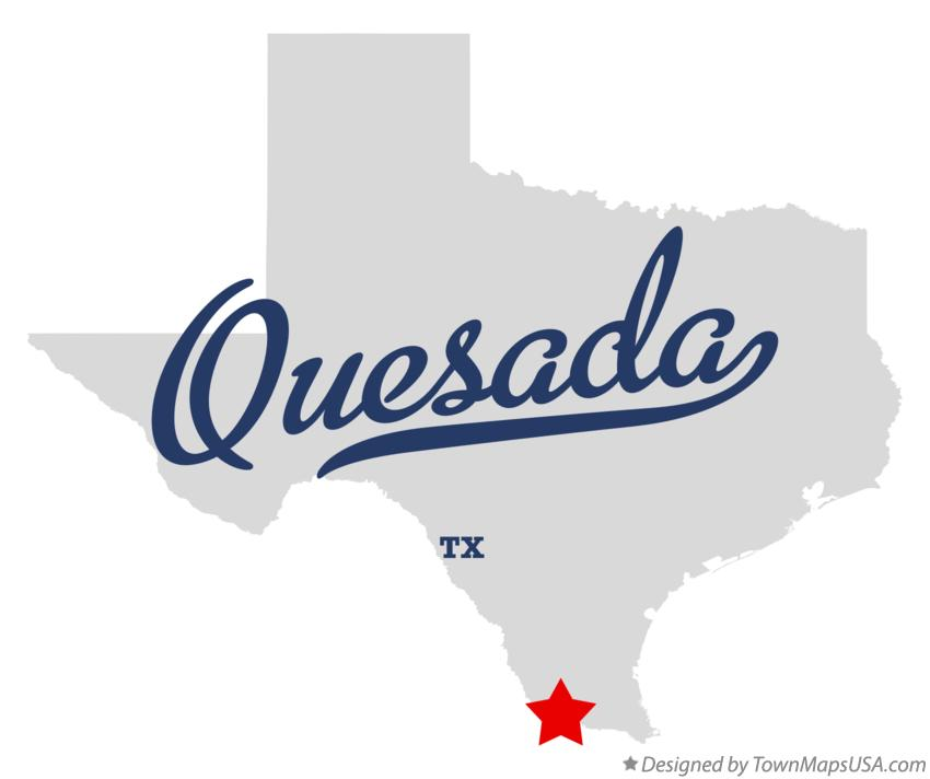 Map of Quesada Texas TX