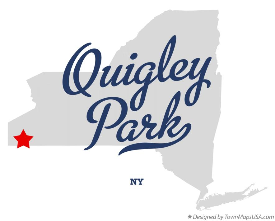 Map of Quigley Park New York NY