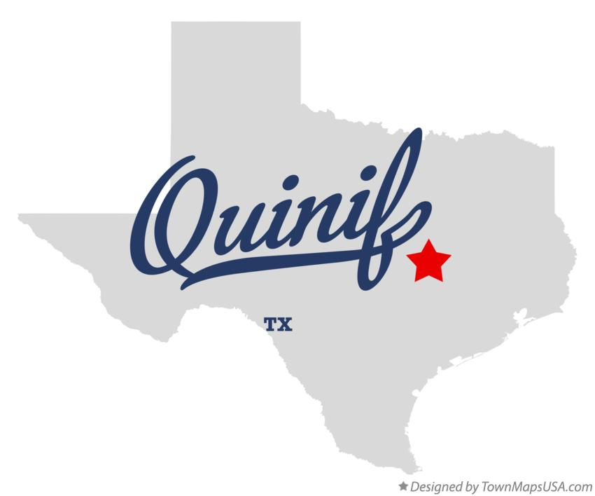 Map of Quinif Texas TX