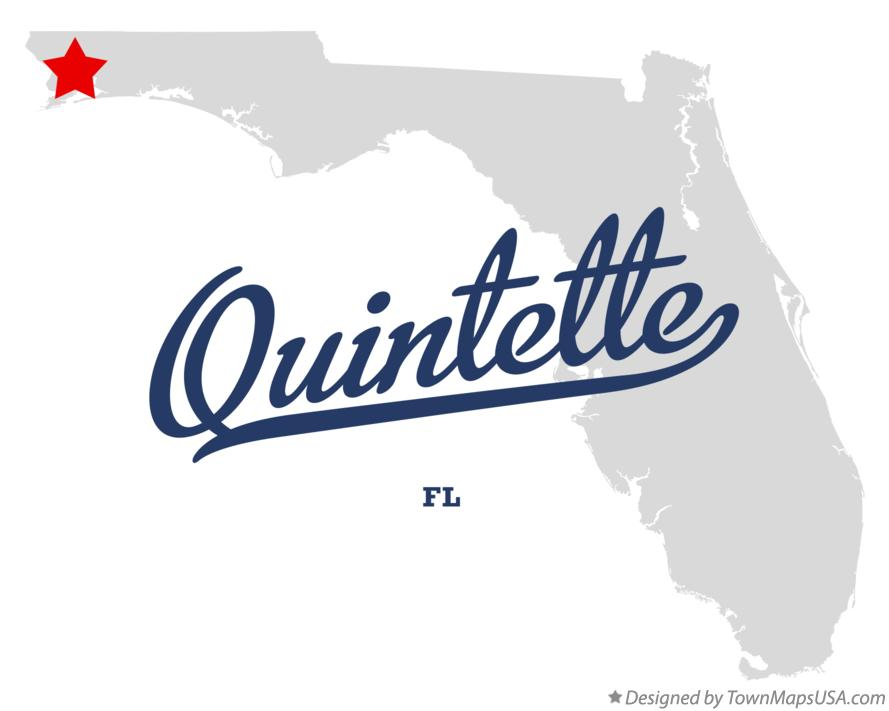 Map of Quintette Florida FL