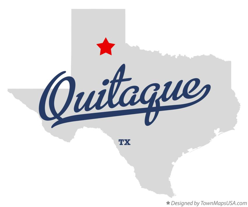 Map of Quitaque TX Texas
