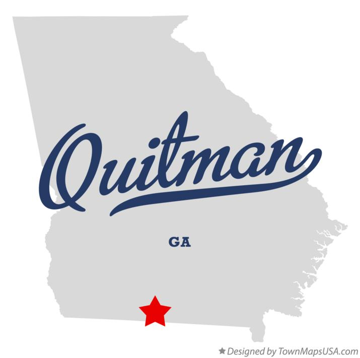 Map Of Quitman Ga.Map Of Quitman Ga Georgia