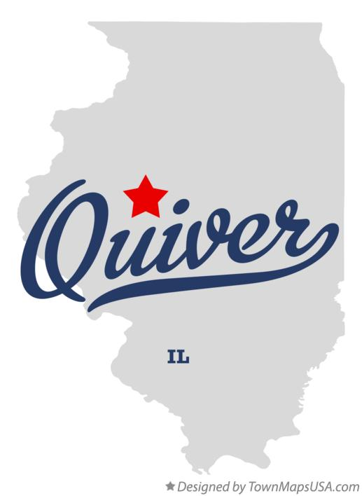 Map of Quiver Illinois IL