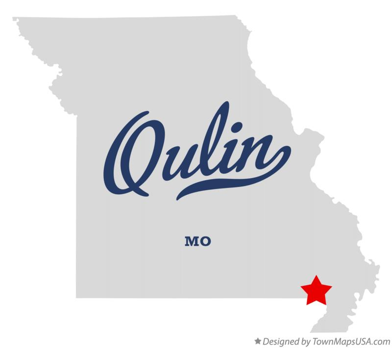 Map of Qulin Missouri MO