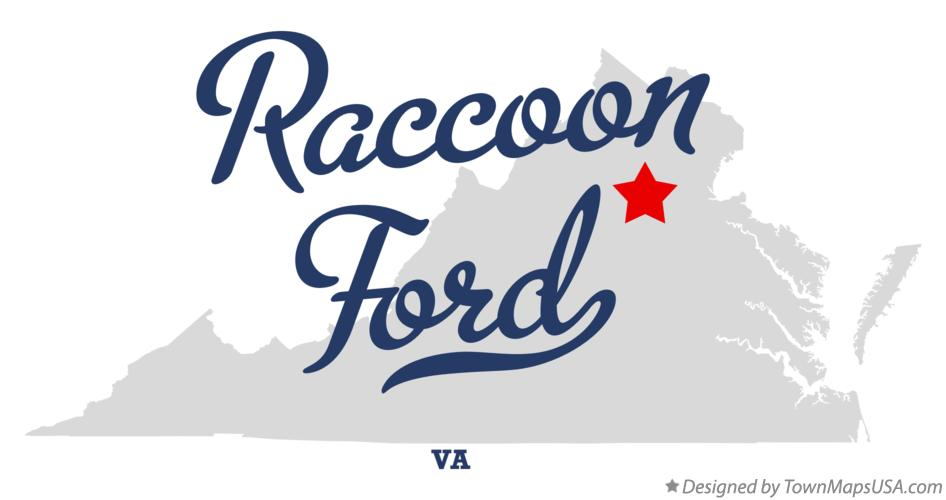Map of Raccoon Ford Virginia VA