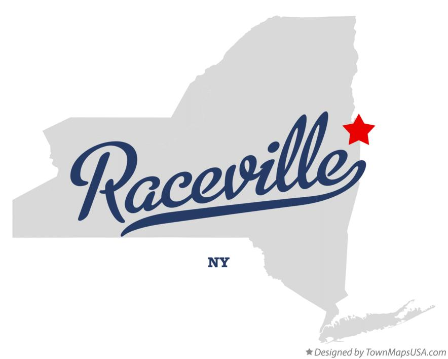 Map of Raceville New York NY