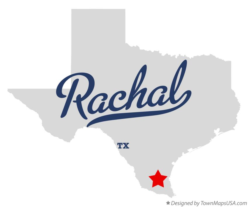 Map of Rachal Texas TX