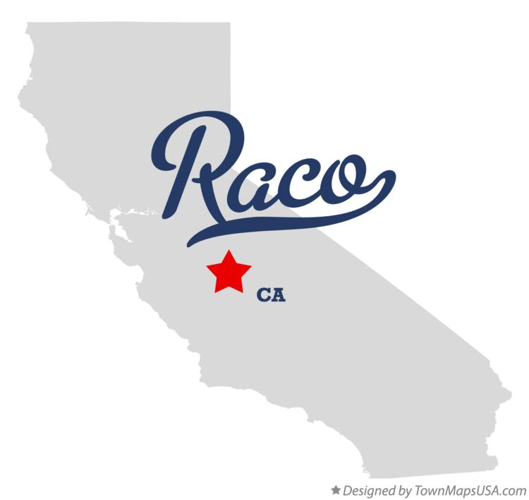 Map of Raco California CA