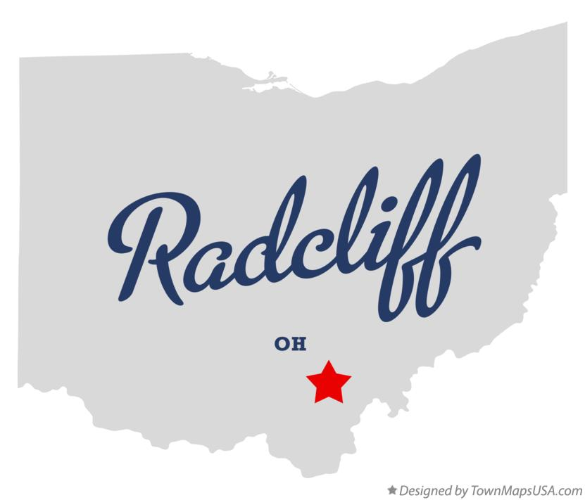 Map of Radcliff Ohio OH