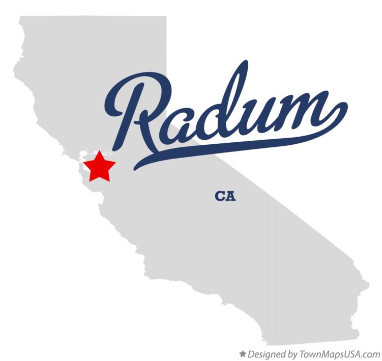 Map of Radum California CA