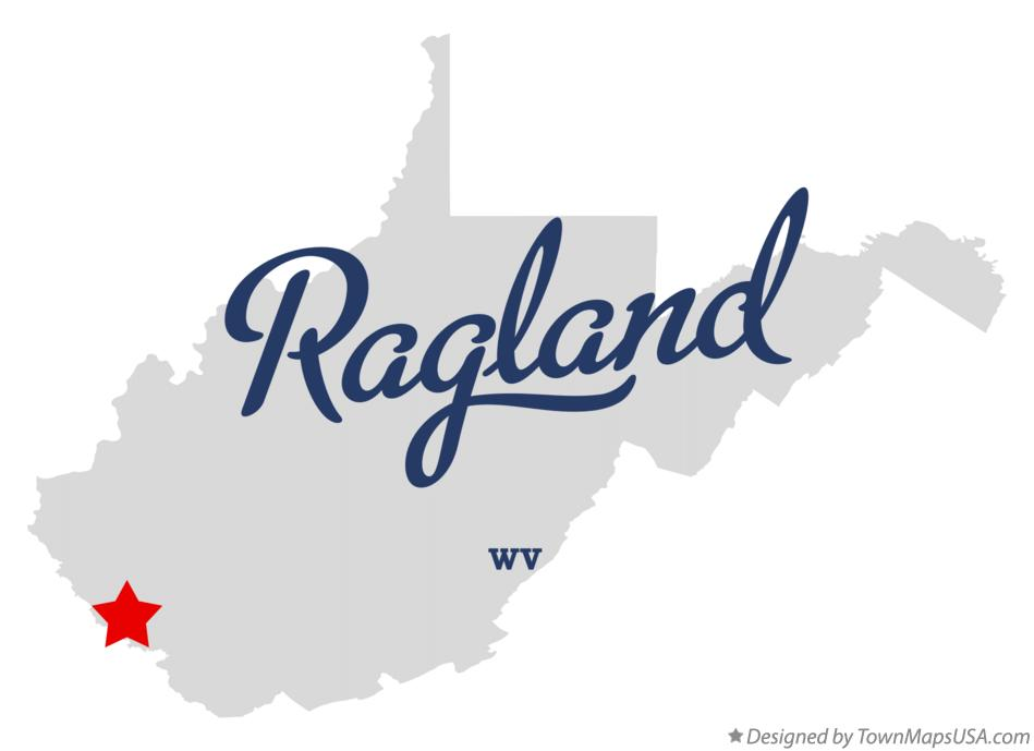 Map of Ragland West Virginia WV