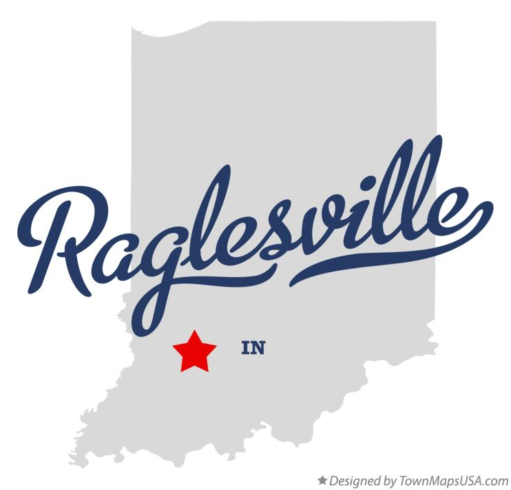 Map of Raglesville Indiana IN