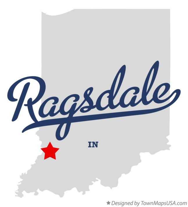 Map of Ragsdale Indiana IN
