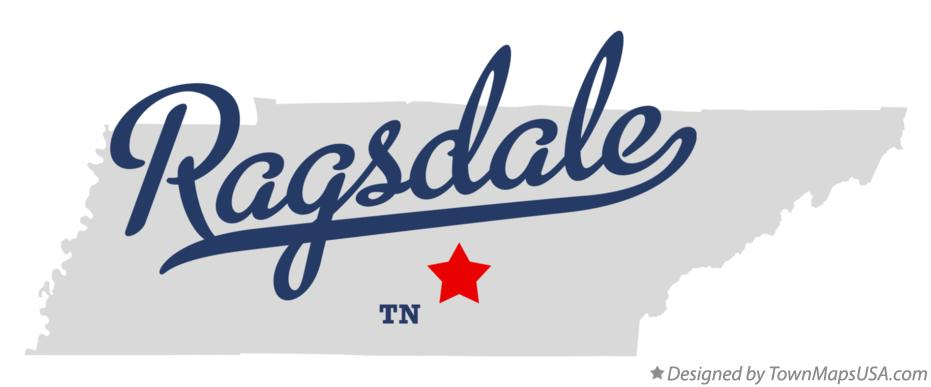 Map of Ragsdale Tennessee TN