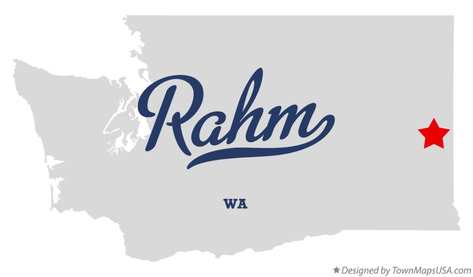 Map of Rahm Washington WA