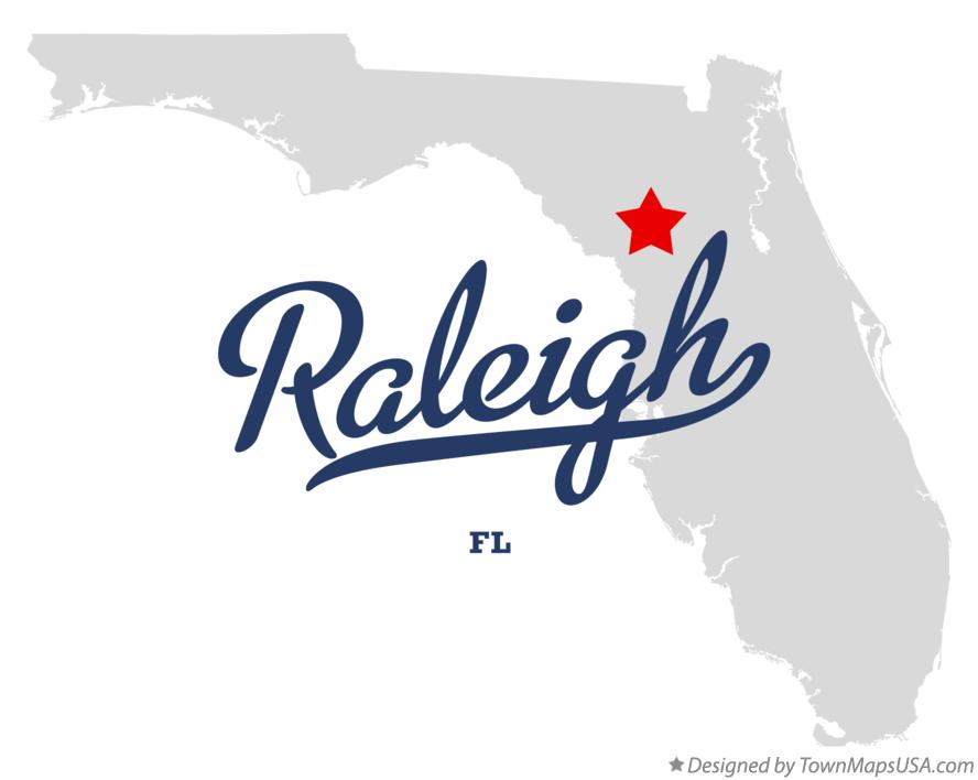 Map of Raleigh Florida FL