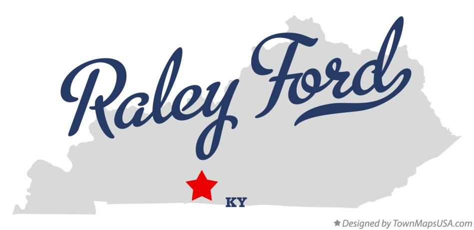 Map of Raley Ford Kentucky KY