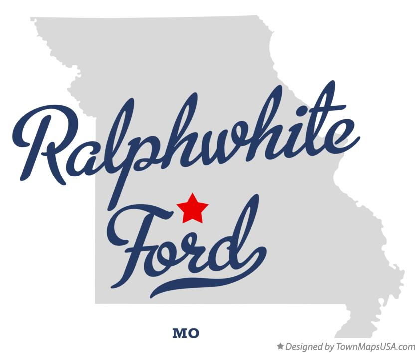 Map of Ralphwhite Ford Missouri MO