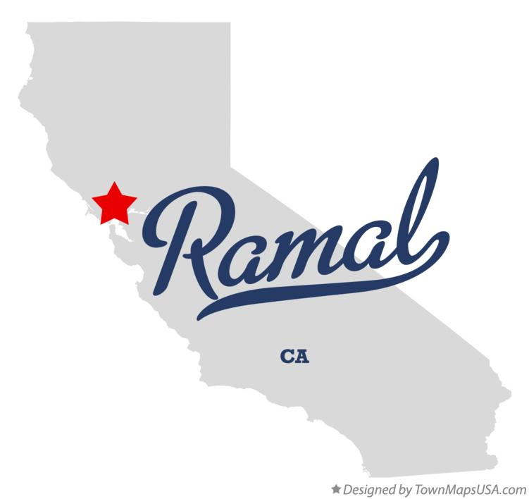 Map of Ramal California CA